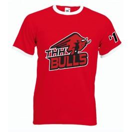 """""""BULLS"""" T-shirt Ringer-Tee"""